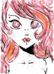 Pink Girl Gothic by DeathDoll05