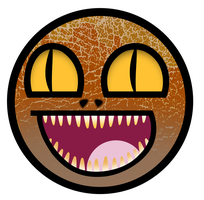 Velociraptor Awesome Smiley by E-rap
