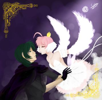 Princess Tutu: Fakir and Ahiru by emberfang