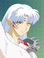 Sesshomaru by kaser