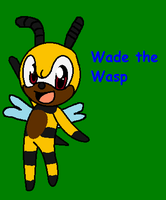 Wade the Wasp by Sparklecat16