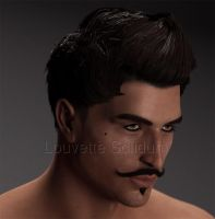 Dorian - WIP by Louvette