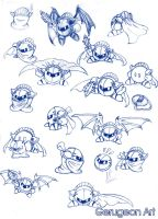 Meta Knight Madness by gerugeon