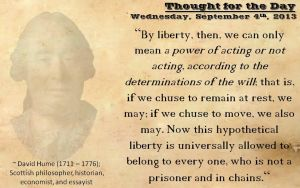 Thought for the Day - September 4th, 2013 by ebturner