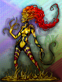 Another Symbiote Girl by NanasFreak