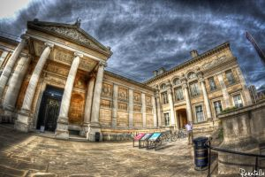 The Ashmolean Museum in HDR by renatello