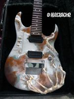 Giger's guitar Troides 4 by Mymakao