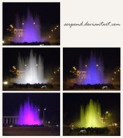 Fountain Collage by AllieCat33