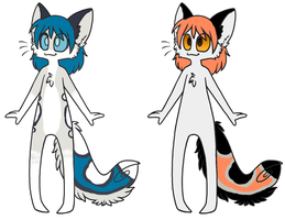 Anthro adopts (OPEN!!!) by Vexlovely
