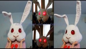 Rabbit Doubt, the head by Daffy-chan