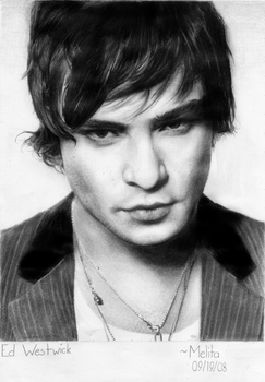 Ed Westwick by MindlessCreativity