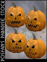 Jack O'Lanterns 013 by poserfan-stock