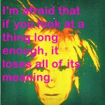 Andy Warhol by mollymelone