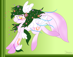 :COM: Flower Pony by spottie-dots