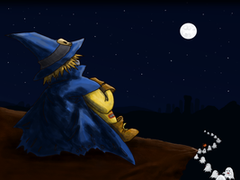 Wizardmon's Halloween Night by revialim