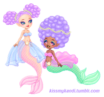 Mermaids by kissmykandi