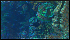 Into the Fractal Reef by Miarath