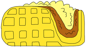 Waffle Taco by adamRY