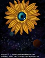 Optical Daisy by the-art-junky