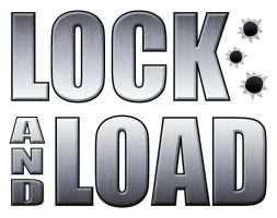 Lock and Load Logo by Kittensoft