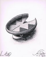 Lotad by johnrenelle