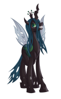 Queen Chrysalis - Color by GeminiShadows
