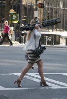 Reporter on the move by jwebbermedia