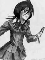 rukia.. by real-legend