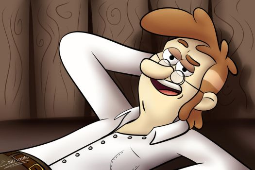 Fiddleford McGucket by EmaXuratas