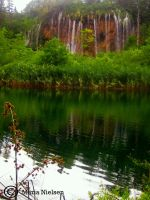 Green Waterfall by Moonbird9
