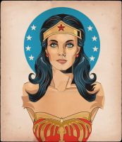 Lynda Carter Wonder Woman by MY-METAL-HAND