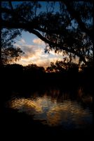 Murray River sunset 3 by wildplaces