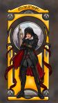 Evie Frye : ''Art Nouveau'' (colored version) by myngorad