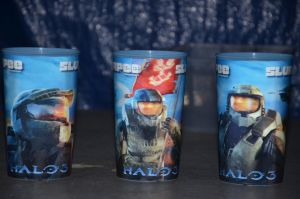 halo 3 surplee cups by REDNOBLE6