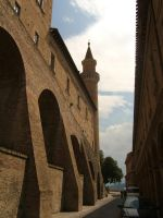 Urbino. Medieval ambience by mirator