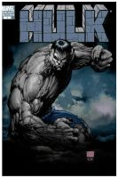 TURNER GREY HULK VARIANT by LUV80