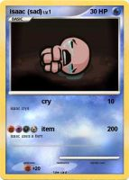 the binding of isaac pokemon card 1 by dclark4