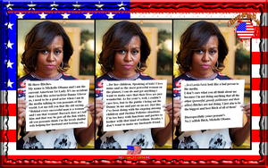 CIVIL WRITES: 1st LADY OF HYPOCRISY by CSuk-1T