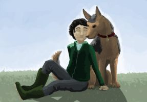 One Man and His Dog by femalefred