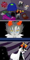 Homestuck RP TROLL dump by Greer-The-Raven