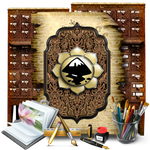Secret Garden Inkscape Library by TheAngeldove