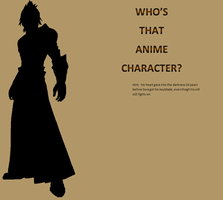 Who's That Anime Character #6 by hermionejgranger