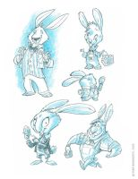 Easter Bunny Concepts 3 by RobbVision