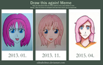 Before And After - Draw this Again! Meme by edinaholmes