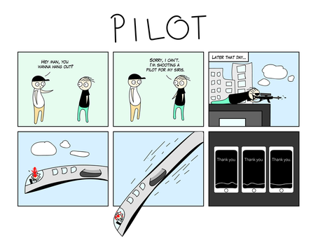 Pilot by CupCaine