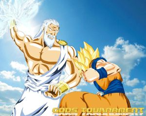 Battle Of Gods - Zeus VS Goku