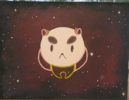 puppycat oil painting by AlexisM96