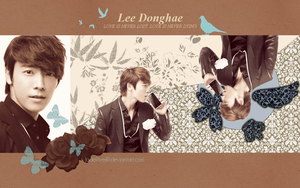 Donghae - Never Wallpaper by JadeRiverJR