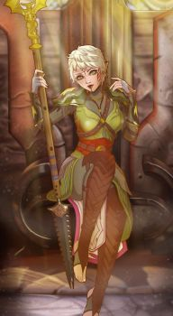 Inquisitor Lavellan by Scrappy195