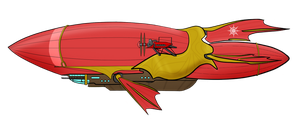 Untitled Airship - 'MLP:LtA' by Chobittsu-Studios